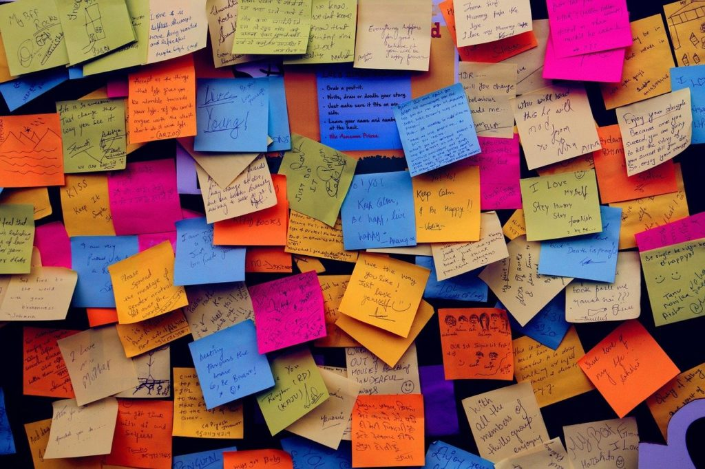 post it notes, sticky notes, note